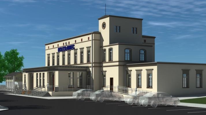 Dworzec kolejowy Bolesławiec- przebudowa zabytkowego dworca