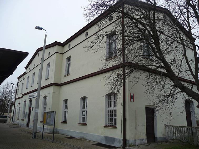 Dworzec kolejowy Malczyce – przebudowa zabytkowego dworca