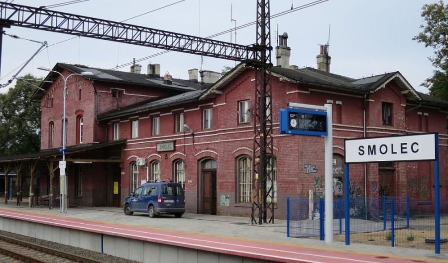 Dworzec kolejowy Smolec – realizacja w toku